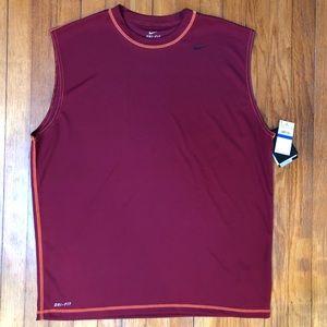 Men's Nike Dri-Fit Sleeveless Shirt
